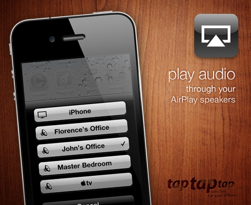play audio through your AirPlay speakers