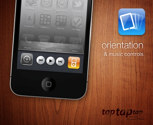 orientation & music controls
