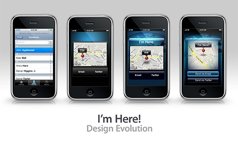I'm Here! ~ Design Evolution
