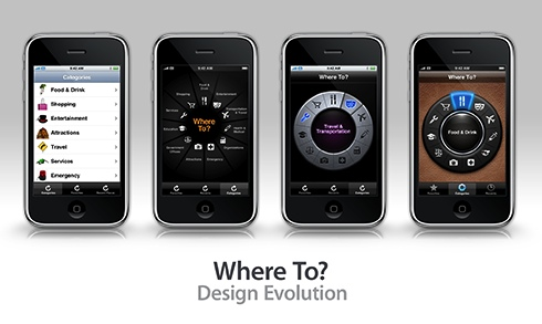 Where To? ~ Design Evolution